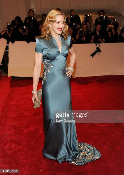 Madonna attends the 'Alexander McQueen Savage Beauty' Costume Institute Gala at The Metropolitan Museum of Art on May 2 2011 in New York City