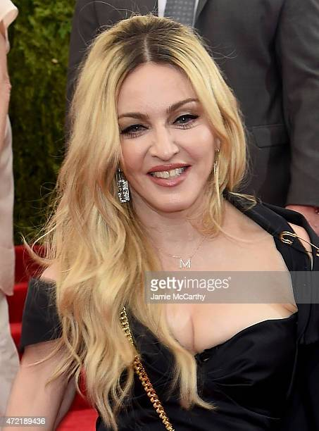 Madonna attends the 'China Through The Looking Glass' Costume Institute Benefit Gala at the Metropolitan Museum of Art on May 4 2015 in New York City
