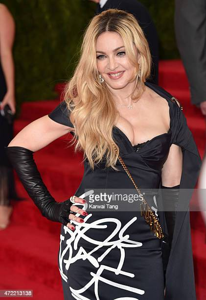 Madonna attends the 'China Through The Looking Glass' Costume Institute Benefit Gala at Metropolitan Museum of Art on May 4 2015 in New York City