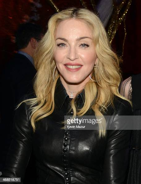 Madonna attends The Great American Songbook event honoring Bryan Lourd at Alice Tully Hall on February 10 2014 in New York City