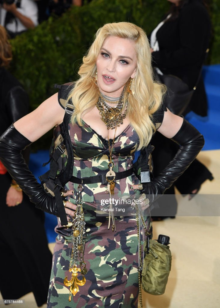 Madonna attends the 'Rei Kawakubo/Comme des Garcons: Art Of The In-Between' Costume Institute Gala at the Metropolitan Museum of Art on May 1, 2017 in New York City.