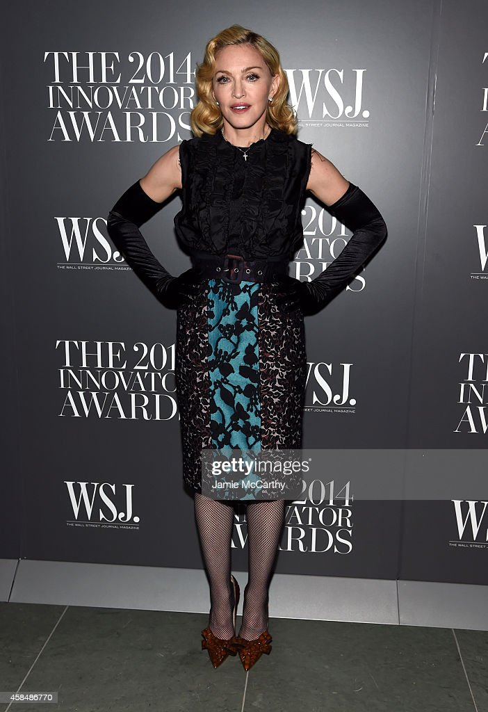 Madonna attends WSJ. Magazine 2014 Innovator Awards at Museum of Modern Art on November 5, 2014 in New York City.