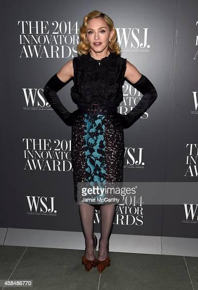Madonna attends WSJ Magazine 2014 Innovator Awards at Museum of Modern Art on November 5 2014 in New York City