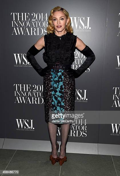 Madonna attends WSJ Magazine 2014 Innovator Awards at Museum of Modern Art on November 5 2014 in New York City
