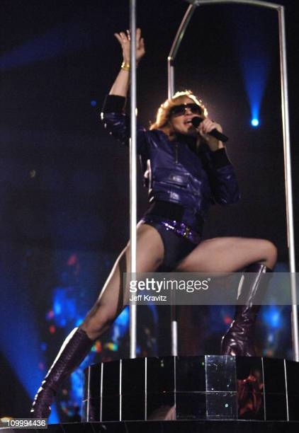 Madonna during 2005 MTV European Music Awards Lisbon Show at Atlantic Pavillion in Lisbon Portugal