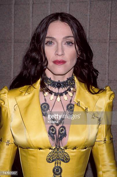 Madonna during Madonna File Photos at the Various Locations in New York New York