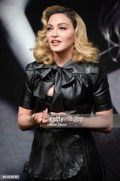 Madonna launches MDNA SKIN collection at Ludlow House on September 26 2017 in New York City