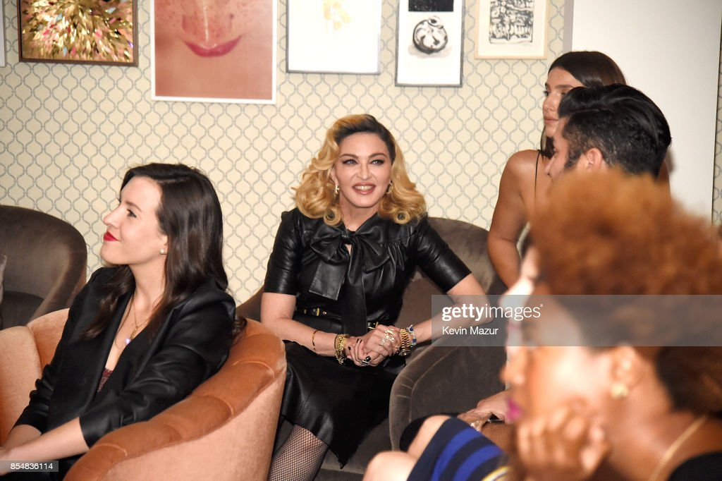 Madonna launches MDNA SKIN collection at Ludlow House on September 26, 2017 in New York City.