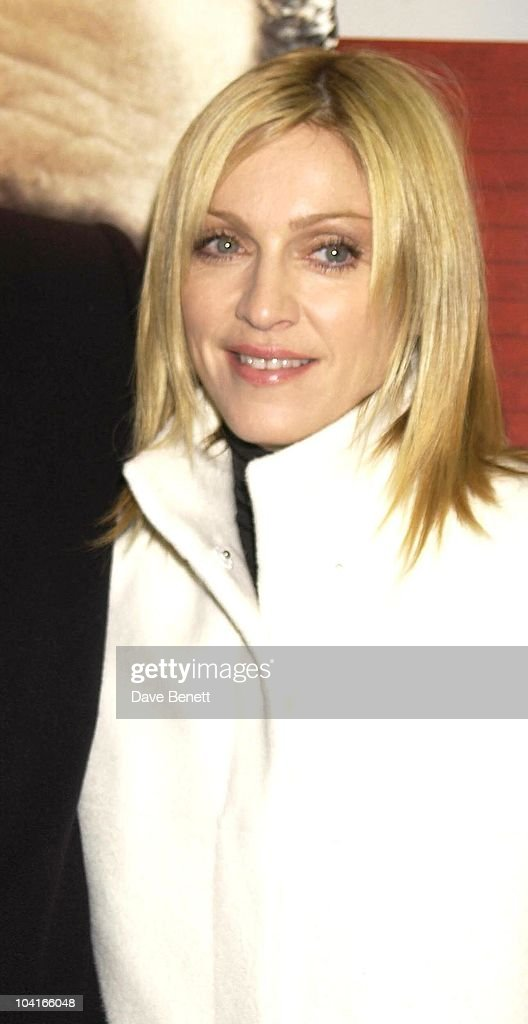 Madonna, 'Mean Machine' Movie Premiere Held At The Odeon Cinema In Kensington, London.