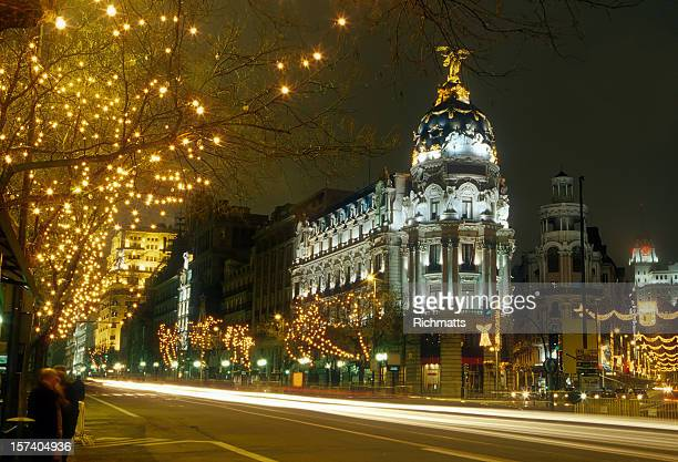 Madrid a notte