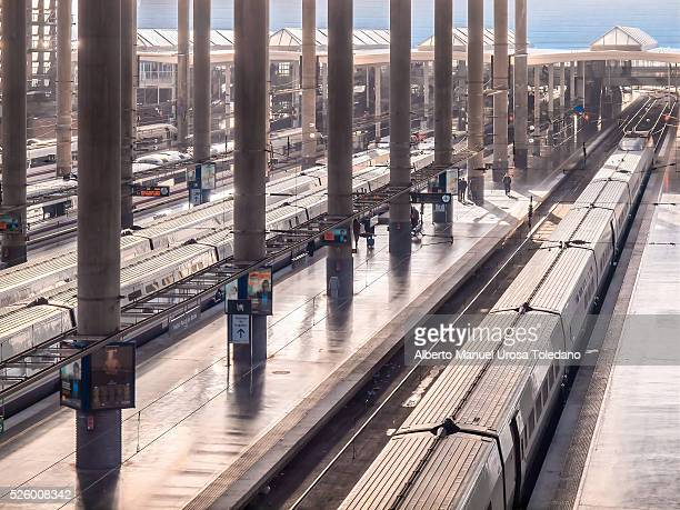 Madrid, Atocha train station, AVE platforms