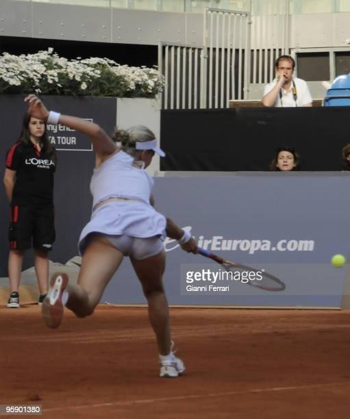Madrid Caja Magica Spain Open Women's Tennis Elena Dementieva Russia