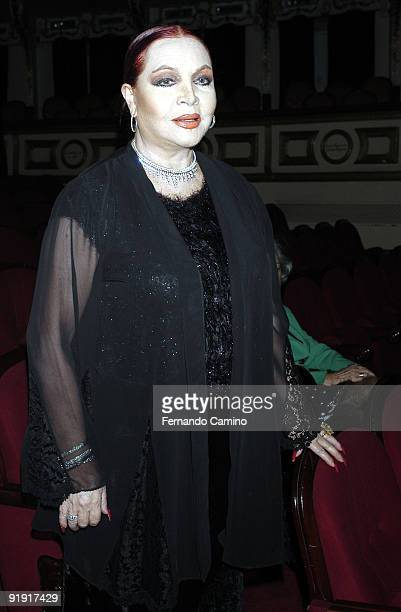 140203 Madrid Calderón theater Preestreno in the Calderón Theater of Madrid of the new Flamenco spectacle of of the dancer Sara Twigs Sara Montiel...