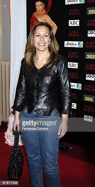 140203 Madrid Calderón theater Preestreno in the Calderón Theater of Madrid of the new Flamenco spectacle of of the dancer Sara Twigs Trinidad...