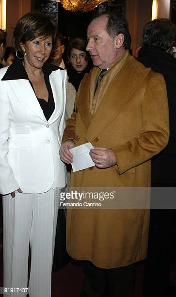 140203 Madrid Calderón theater Preestreno in the Calderón Theater of Madrid of the new Flamenco spectacle of of the dancer Sara Twigs Shell mother of...