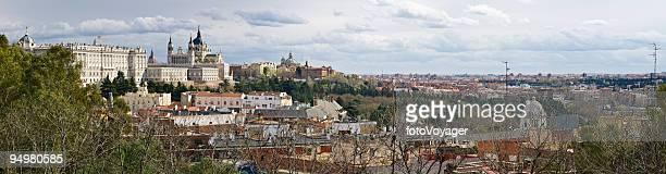 Madrid city panorama