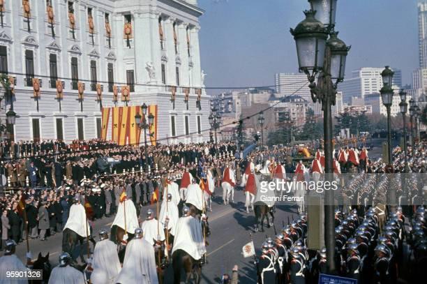 Madrid Palace de Oriente Spain Funeral of Francisco Franco