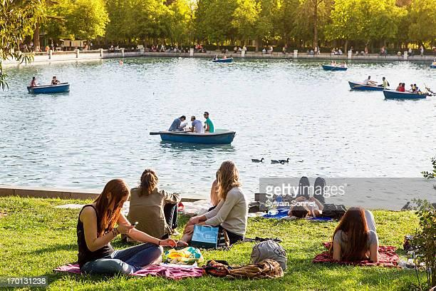 Madrid, Parque Del Buen Retiro