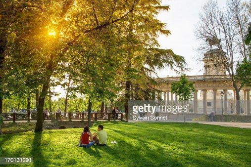 Parco Del Buen Retiro Foto e immagini stock  Getty Images
