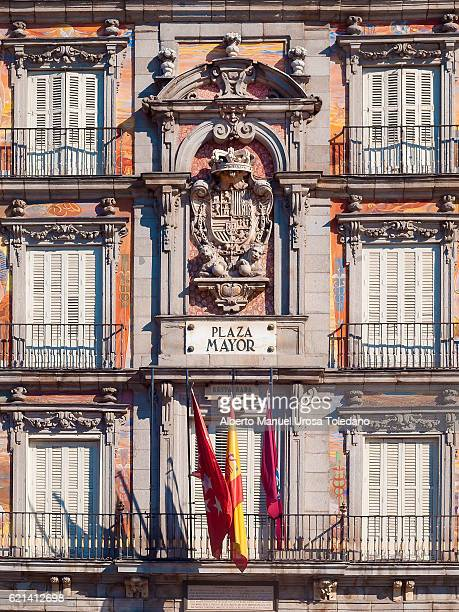 Madrid, Plaza Mayor square - Panaderia House FACADE