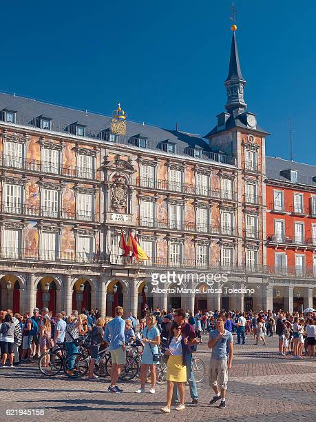 Madrid, Plaza Mayor square - Panaderia House