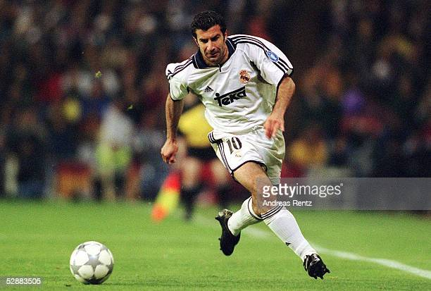 LEAGUE 00/01 Madrid REAL MADRID FC BAYERN MUENCHEN 01 Luis FIGO/REAL