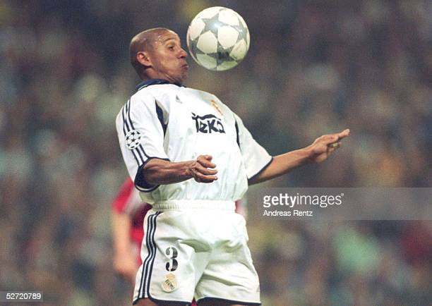 LEAGUE 00/01 Madrid REAL MADRID FC BAYERN MUENCHEN 01 Roberto CARLOS/MADRID
