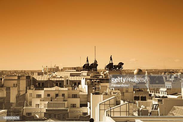 Madrid roofs doutone