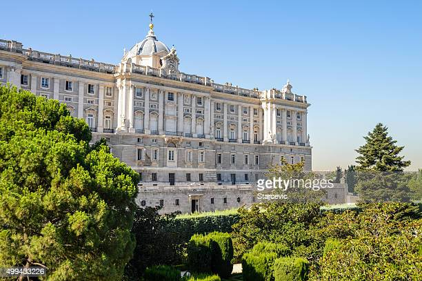 Madrid royal palace stock photos and pictures getty images for Royal exteriors