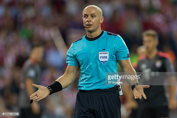 Madrid Spain UEFA Champions League 2016/17 Season Group D Matchday 2 Atletico Madrid FC Bayern Muenchen Schiedsrichter Szymon Marciniak