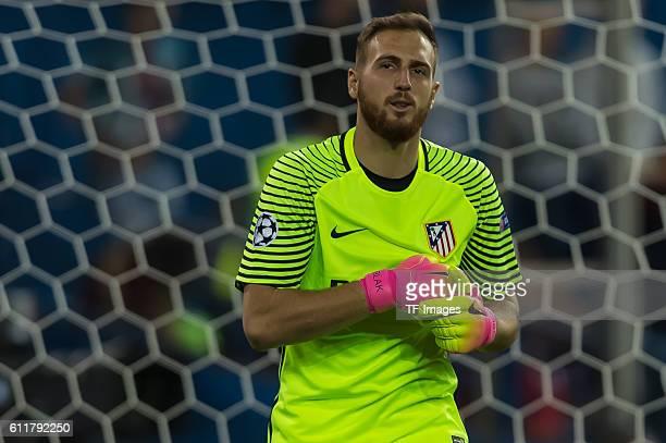 Madrid Spain UEFA Champions League 2016/17 Season Group D Matchday 2 Atletico Madrid FC Bayern Muenchen Torwart Jan Oblak