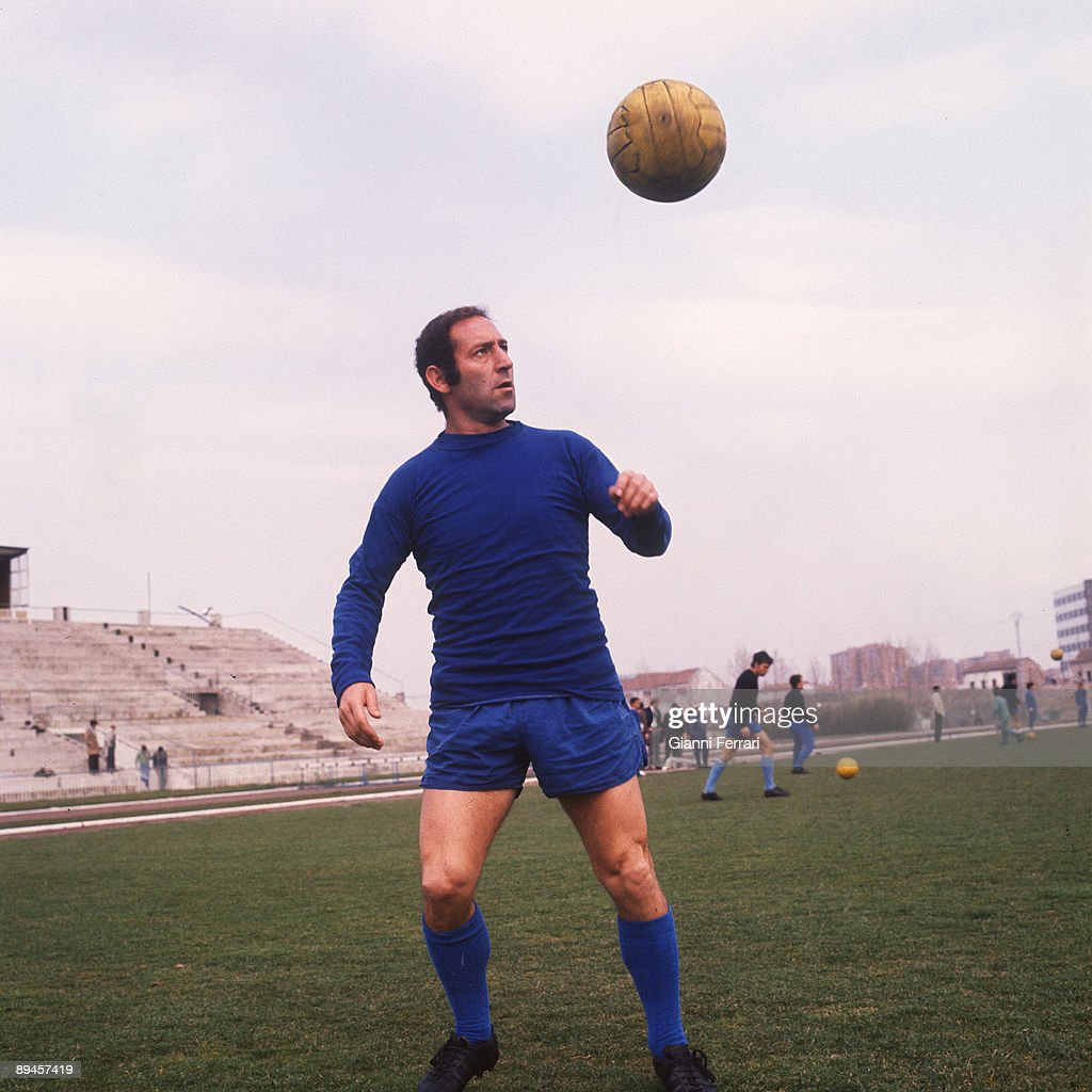Madrid Spain Portrait of Francisco Gento footballer in The Real