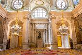 Madrid, the Halberdiers room in Royal Palace