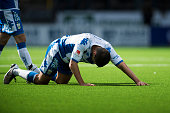 Mads Albaek of IFK Goteborg dejected during the Allsvenskan match between IF Elfsborg and IFK Goteborg at Boras Arena on July 17 2016 in Boras Sweden