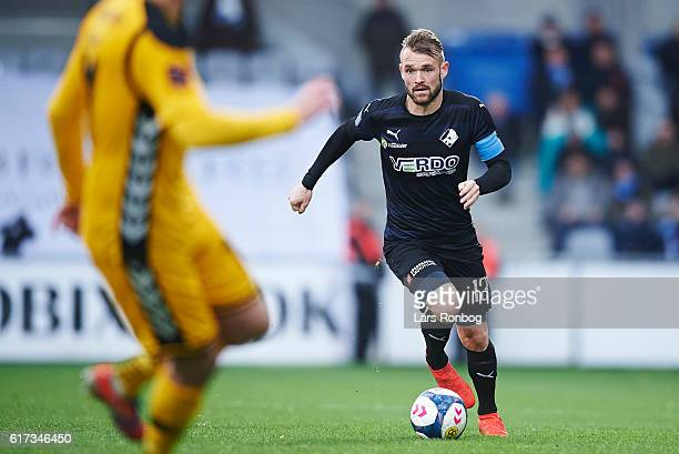 Mads Fenger of Randers FC in action during the Danish Alka Superliga match between AC Horsens and Randers FC at Casa Arena Horsens on October 23 2016...