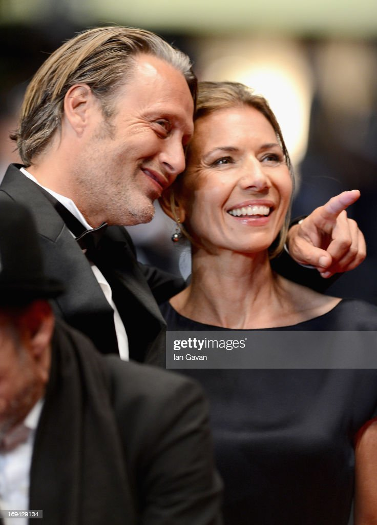 <a gi-track='captionPersonalityLinkClicked' href=/galleries/search?phrase=Mads+Mikkelsen&family=editorial&specificpeople=3003791 ng-click='$event.stopPropagation()'>Mads Mikkelsen</a> and Hanne Jacobsen attend the 'Michael Kohlhaas' premiere during The 66th Annual Cannes Film Festival at the Palais des Festival on May 24, 2013 in Cannes, France.
