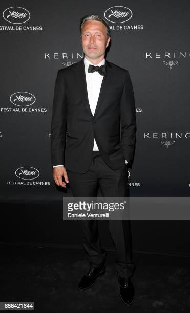 Mads Mikkelsen attend the Women in Motion Awards Dinner at the 70th Cannes Film Festival at Place de la Castre on May 21 2017 in Cannes France