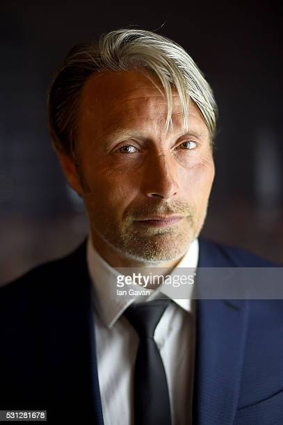 Mads Mikkelsen attends as Charles Finch hosts the 8th Annual Filmmakers Dinner with JaegerLeCoultre at Hotel du CapEdenRoc on May 13 2016 in Cap...