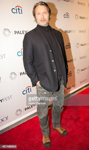 Mads Mikkelsen attends the 2nd Annual Paleyfest New York Presents 'Hannibal' at Paley Center For Media on October 18 2014 in New York New York