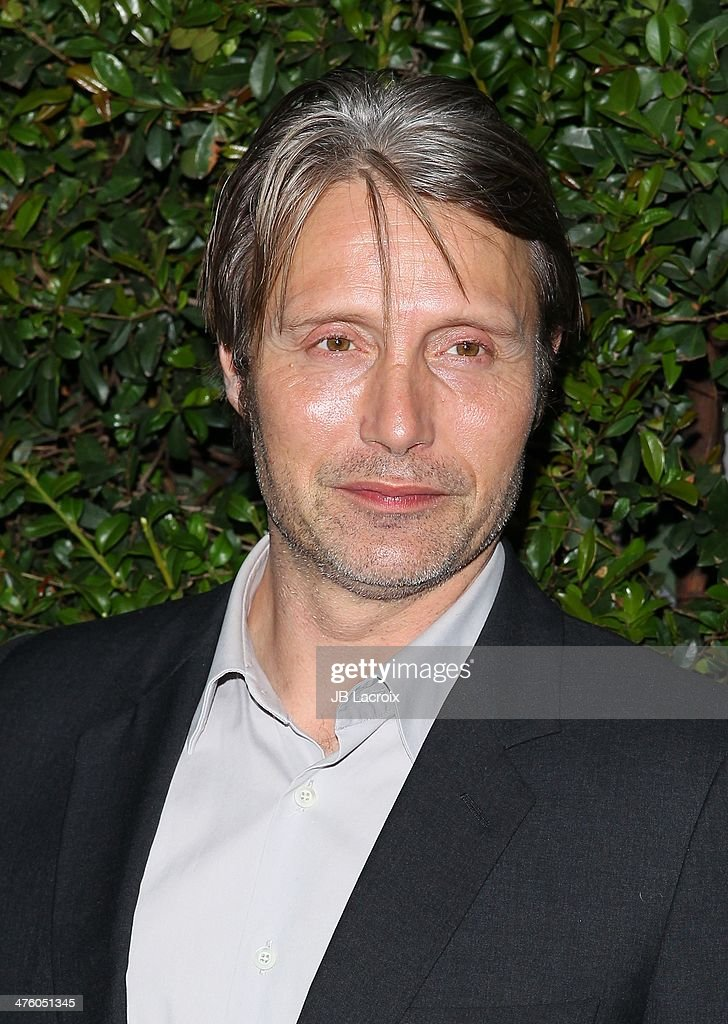 Mads Mikkelsen attends the Chanel Charles Finch Pre-Oscar Dinner held at Madeo Restaurant on March 1, 2014 in Los Angeles, California.