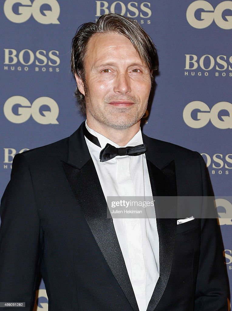 Mads Mikkelsen attends the GQ Men Of The Year Awards 2014 at Musee d'Orsay on November 19, 2014 in Paris, France.