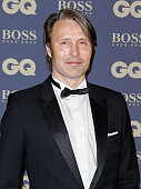 Mads Mikkelsen attends the GQ Men Of The Year Awards 2014 at Musee d'Orsay on November 19 2014 in Paris France