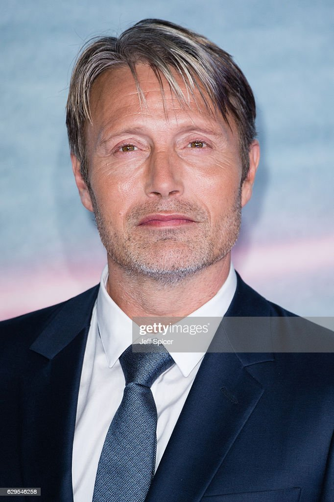 Mads Mikkelsen attends the launch event for 'Rogue One: A Star Wars Story' at Tate Modern on December 13, 2016 in London, England.