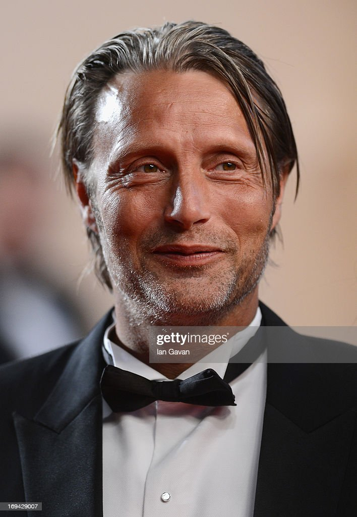 Mads Mikkelsen attends the 'Michael Kohlhaas' premiere during The 66th Annual Cannes Film Festival at the Palais des Festival on May 24, 2013 in Cannes, France.