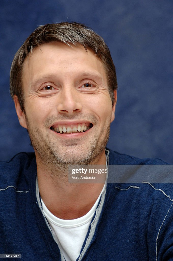 <a gi-track='captionPersonalityLinkClicked' href=/galleries/search?phrase=Mads+Mikkelsen&family=editorial&specificpeople=3003791 ng-click='$event.stopPropagation()'>Mads Mikkelsen</a> during 'Casino Royale' Press Conference with Daniel Craig, Martin Campbell, Eva Green, <a gi-track='captionPersonalityLinkClicked' href=/galleries/search?phrase=Mads+Mikkelsen&family=editorial&specificpeople=3003791 ng-click='$event.stopPropagation()'>Mads Mikkelsen</a> and Caterina Murino at The Regency Hotel in New York City, New York, United States.