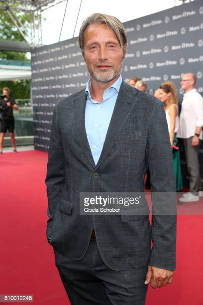 Mads Mikkelsen during the 50th anniversary celebration of Marc O'Polo at its headquarters on July 6 2017 in Stephanskirchen near Rosenheim Germany