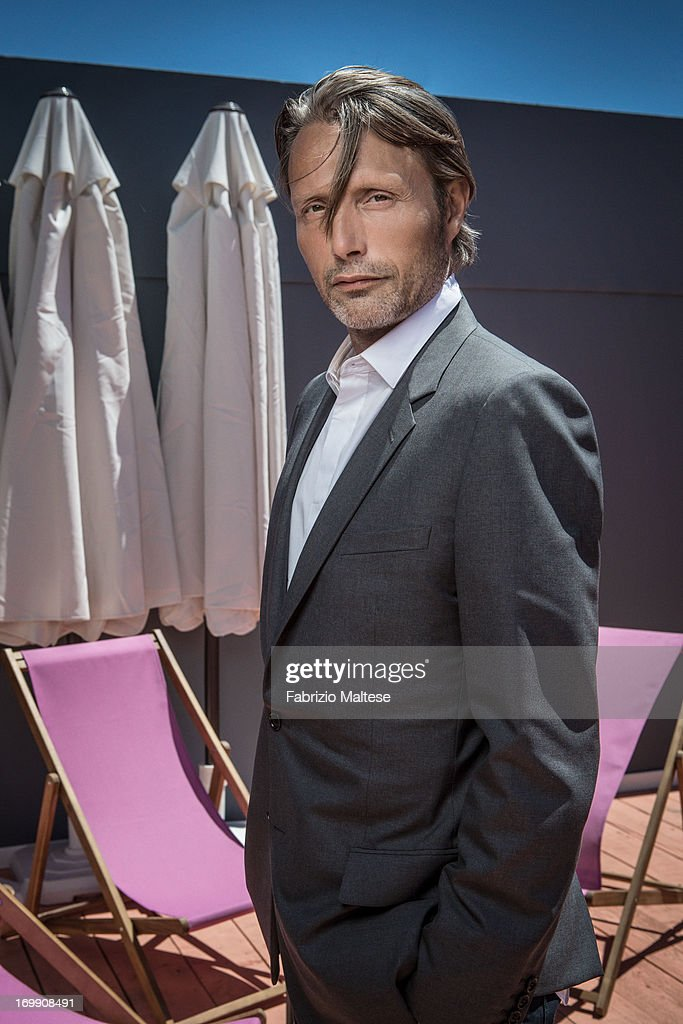 <a gi-track='captionPersonalityLinkClicked' href=/galleries/search?phrase=Mads+Mikkelsen&family=editorial&specificpeople=3003791 ng-click='$event.stopPropagation()'>Mads Mikkelsen</a> is photographed for Self Assignment on May 20, 2013 in Cannes, France.