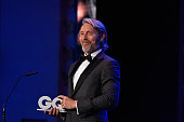 Mads Mikkelsen is seen on stage at the GQ Men of the year Award 2015 show at Komische Oper on November 5 2015 in Berlin Germany