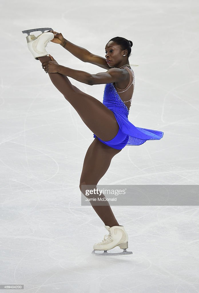 Mae Berenice Meite of France performs her Ladies Free Skate program during day two of Trophee Eric Bompard ISU Grand Prix of Figure Skating at the Meriadeck Ice Rink on November 22, 2014 in Bordeaux, France.