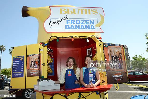 Mae Whitman appears at the 'Arrested Development' Bluth's Original Frozen Banana Stand First Los Angeles Location Opening on May 20 2013 in Los...